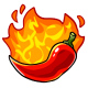 Flaming Chili Pepper