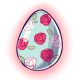 Floral Glowing Egg