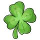 Four Leaf Clover Plushie
