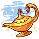 Genie Lamp Toy
