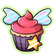 Glowing Fairy Cupcake