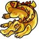 Gold Crikey Plushie