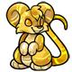Gold Murfin Plushie