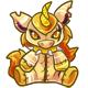 Gold Yuni Plushie