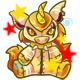 Enchanted Gold Yuni Plushie