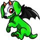 Green Halloweenie