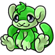 Green Addow Plushie