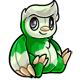 Green Astro Plushie