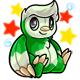 Enchanted Green Astro Plushie