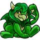 Green Crindol Plushie
