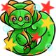 Enchanted Green Decadal Plushie
