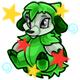 Enchanted Green Echlin Plushie