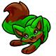 Green Fasoro Plushie