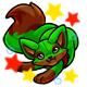 Enchanted Green Fasoro Plushie