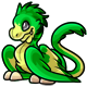 Green Gobble Plushie