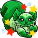 Enchanted Green Kaala Plushie