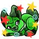 Enchanted Green Lati Plushie