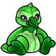 Green Newth Plushie