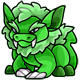 Green Oglue Plushie