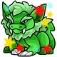 Enchanted Green Oglue Plushie