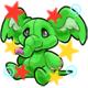 Enchanted Green Phanty Plushie