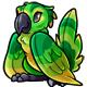 Green Pucu Plushie