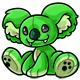 Green Reese Plushie
