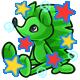 Enchanted Green Rofling Plushie