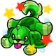 Enchanted Green Rusty Plushie