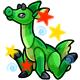 Enchanted Green Viotto Plushie