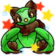 Enchanted Green Walee Plushie
