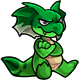 Enchanted Green Yakubi Plushie