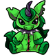 Green Yuni Plushie