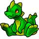 Green Zetlian Plushie