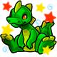 Enchanted Green Zetlian Plushie