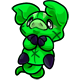 Green Zoink Plushie