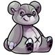 Grey Feliz Plushie