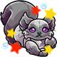 Enchanted Grey Kaala Plushie