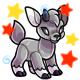 Enchanted Grey Kidlet Plushie