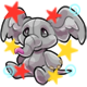 Enchanted Grey Phanty Plushie