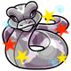 Enchanted Grey Poera Plushie