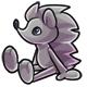Grey Rofling Plushie
