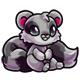 Grey Snookle Plushie