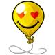Heart Eyes Balloon