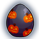 Pumpkin Pattern Glowing Egg