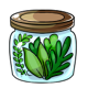 Jar of Herbs