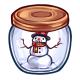 Jar of Snowman