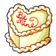 Lemon Heart Cake