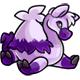Lilac Hump Plushie