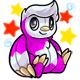 Enchanted Magenta Astro Plushie